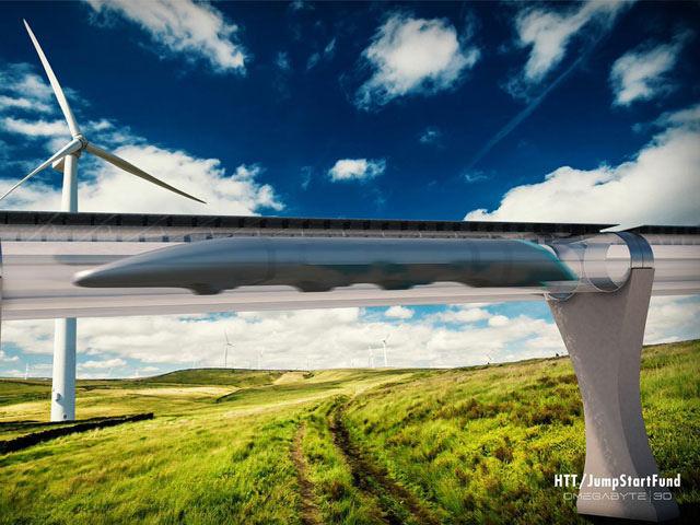 Hyperloop Илон Маск