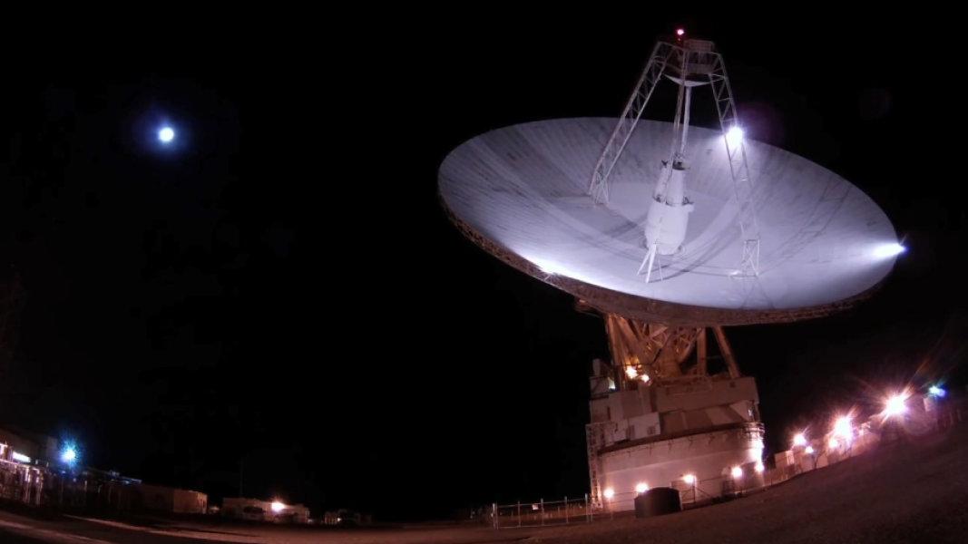 Межпланетный радар NASA Голдстоун, Калифорния.