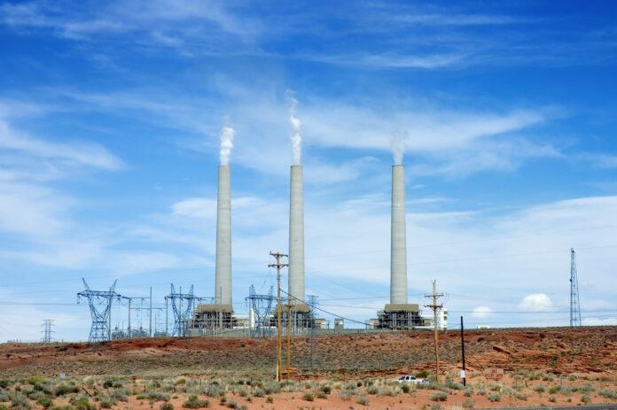Угольная электростанция Навахо,
