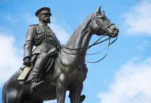 Болгары против памятниука Александру II