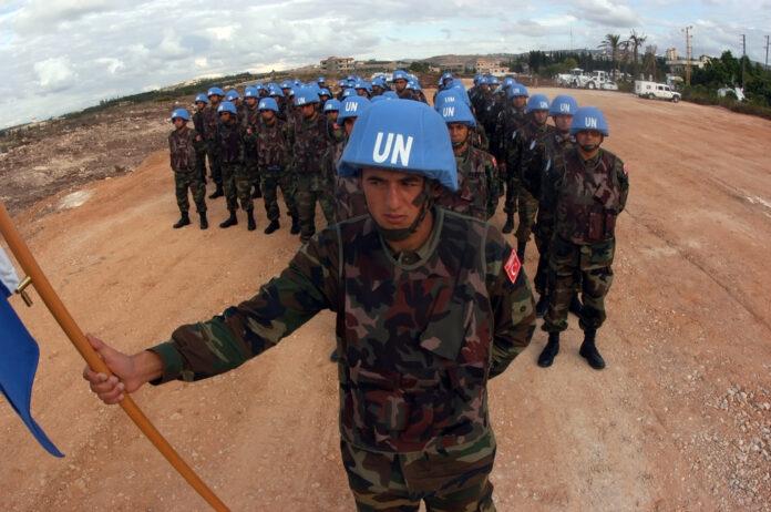 Женщины в миротворческих войсках
