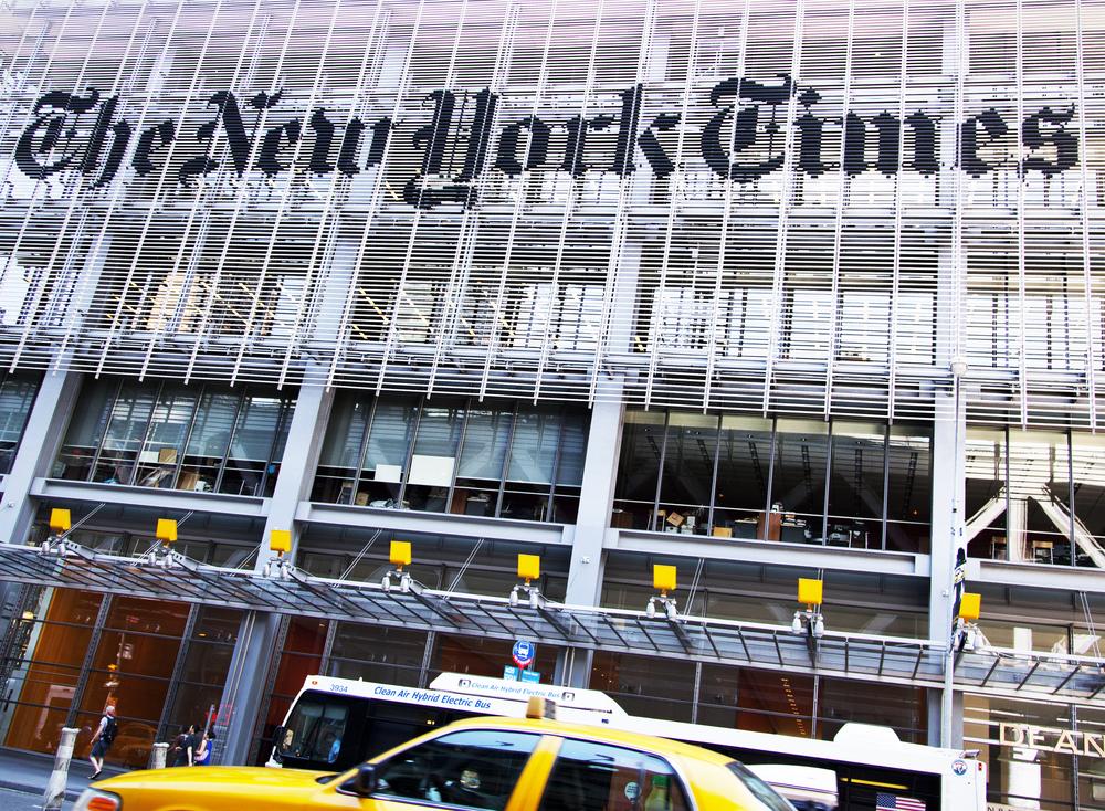издание New York Times получило Пулитцеровскую премию