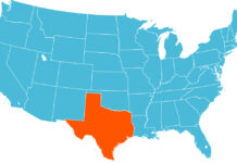 штат Техас отделяется от США