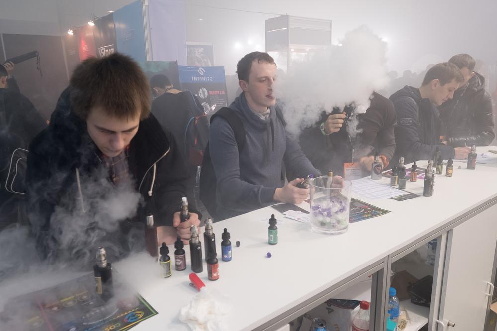 Введение запрета на электронные сигареты