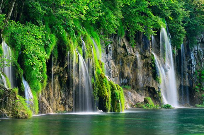 Водопады, Плитвицкие озера.