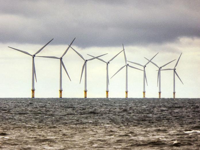Шельфовая ветряная электростанция Burbo Bank