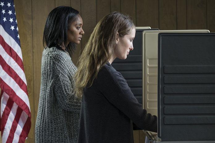 Женщины избирательницы