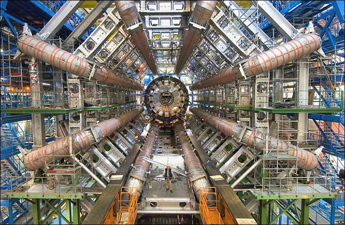 The Large Hadron Collider/ATLAS at CERN.