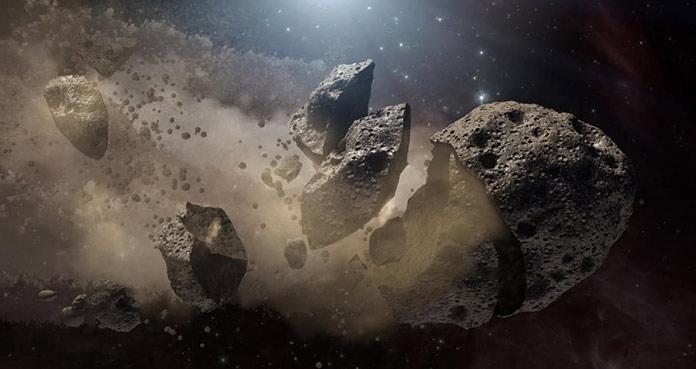 астероид, приведший к вымиранию динозавров.