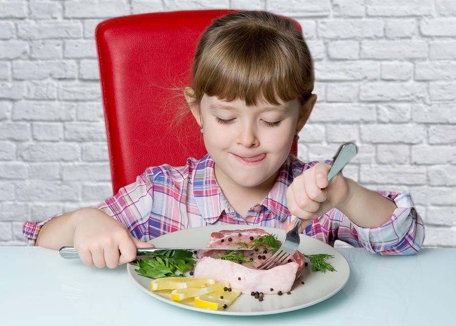 железо в детском питании