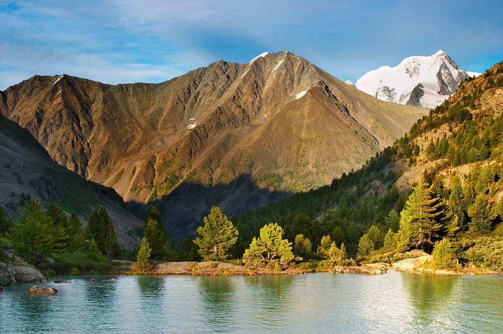 Озеро Дарашколь, Алтай, Россия.