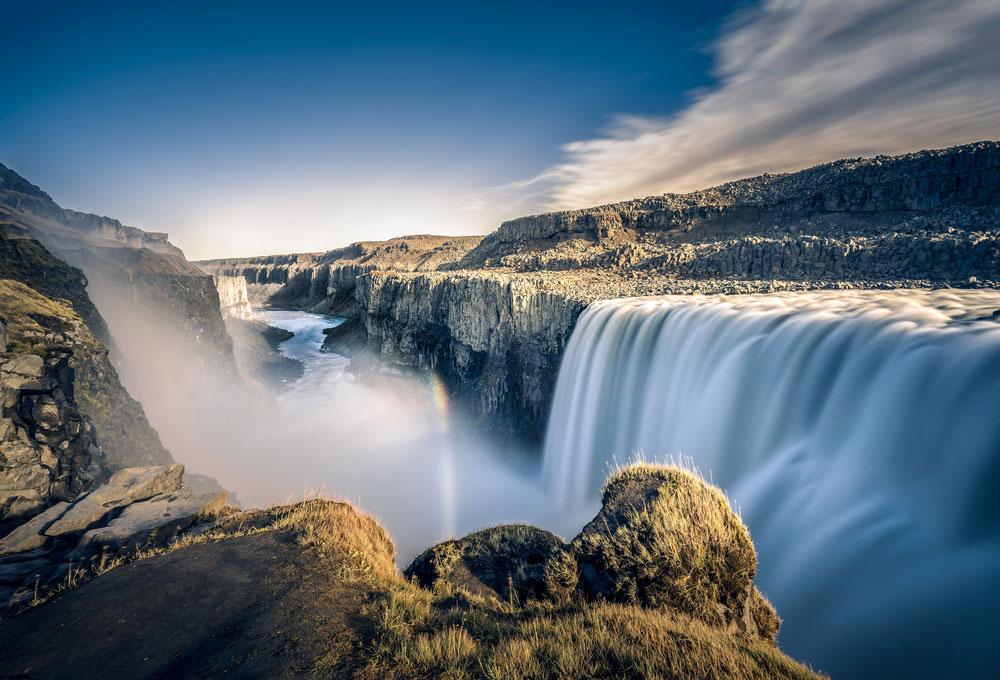 Водопад Детифосс, Исландия