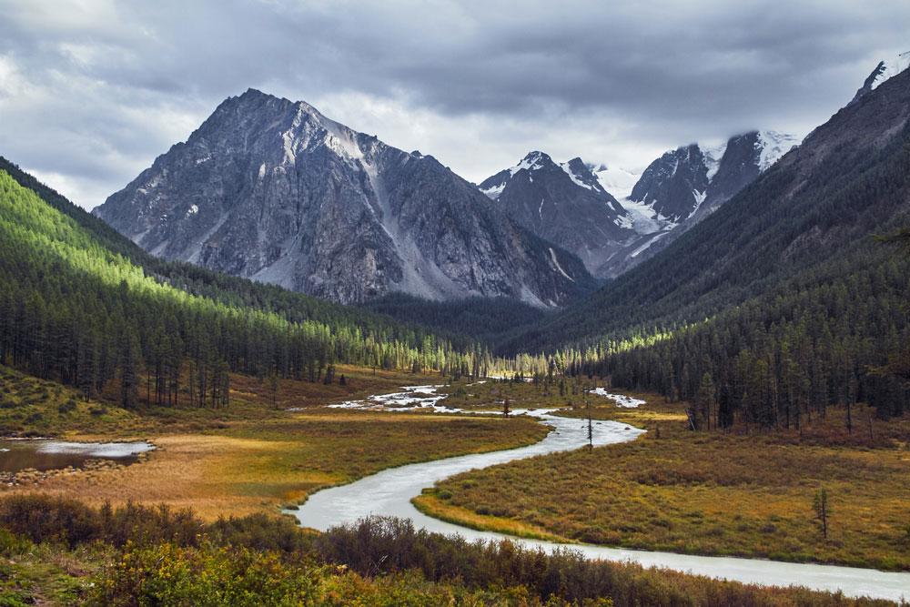 Долина реки Шавла