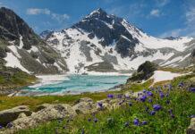 Катунский хребет, Алтай, Россия