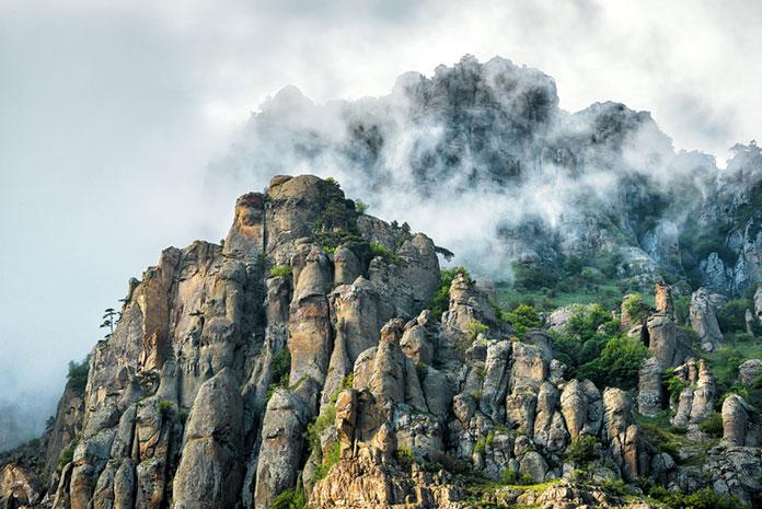Гора Демерджи, Крым.