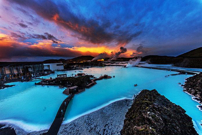 Голубая Лагуна, Исландия.