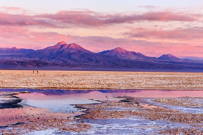 Пустыня Атакама, Чили.