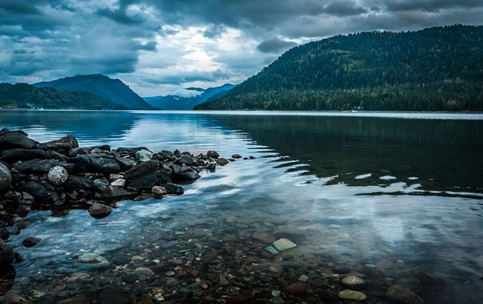 Телецкое озеро, Алтай.