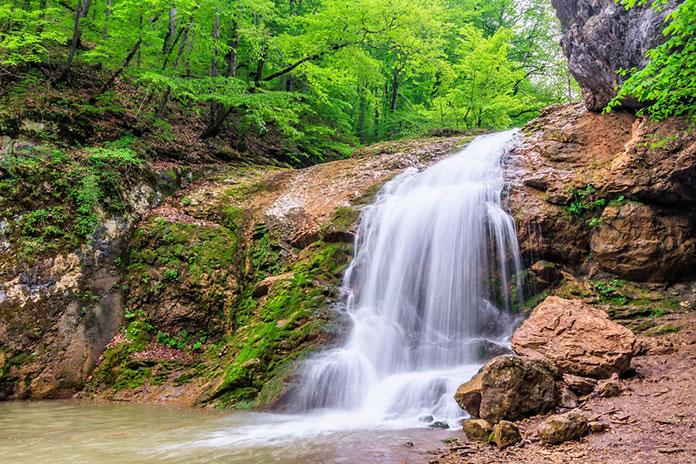 Адыгея, водопады Руфабго.