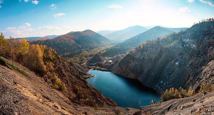 озеро Амут.