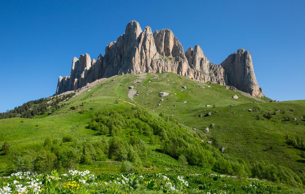 Гора Большой Тхач.