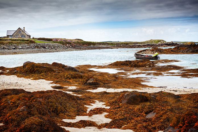 Ландшафт Коннемары, Ирландия.