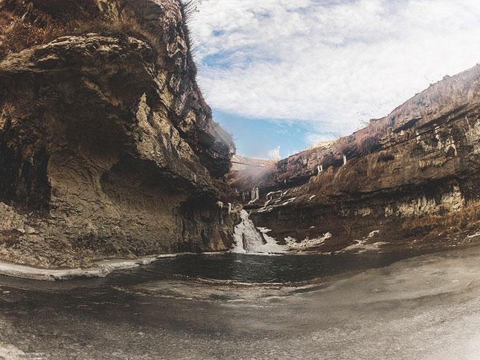 Хунзахский водопад, Хунзахский район