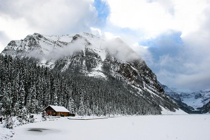 Лейк-Луиз, Национальный парк Банф, Альберта, Канада