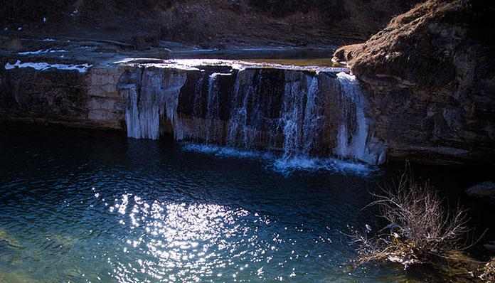 Хунзахские водопады