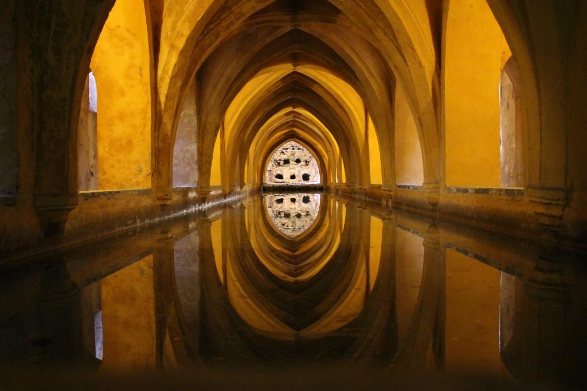 Внутренние помещения Севильского Алькасара