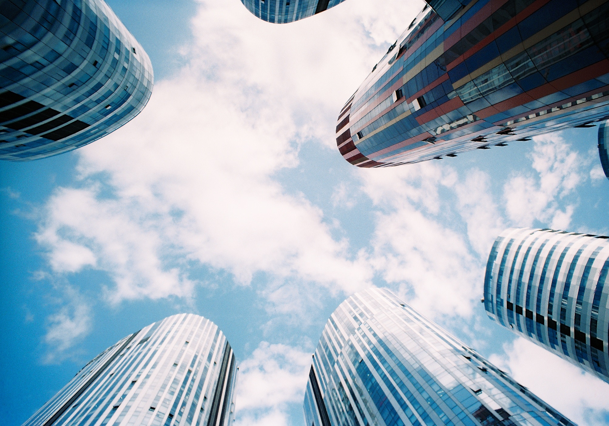 Город будущего, небоскребы
