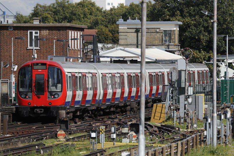 Лондон, метро, поезд, теракт