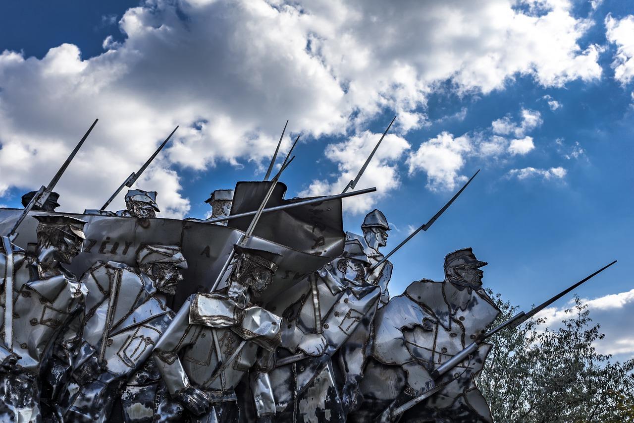 Памятник коммунистической армии