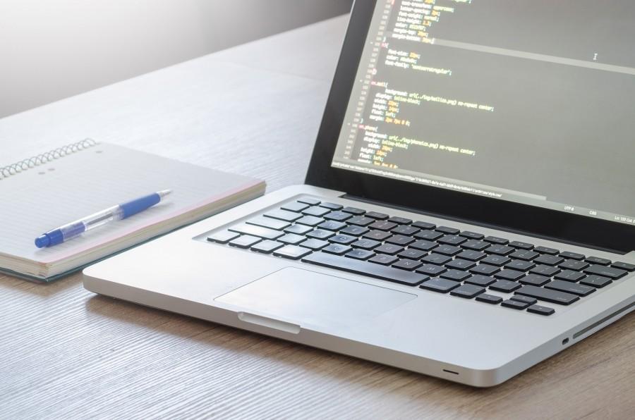 код, ноутбук