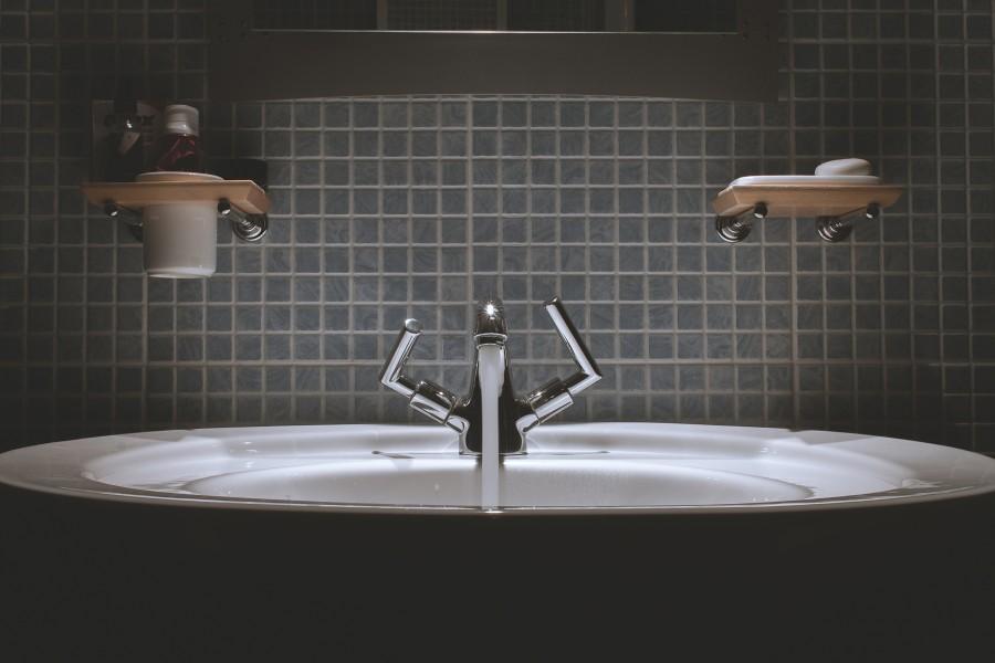 раковина, вода, мыло