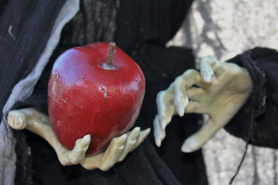 яблоко, ведьма, сказка, Белоснежка