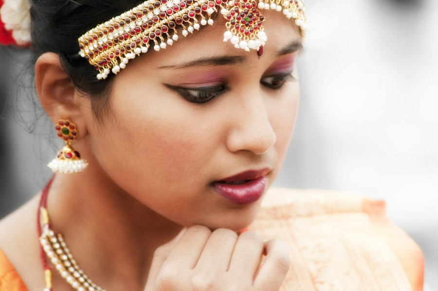 Индия, девушка