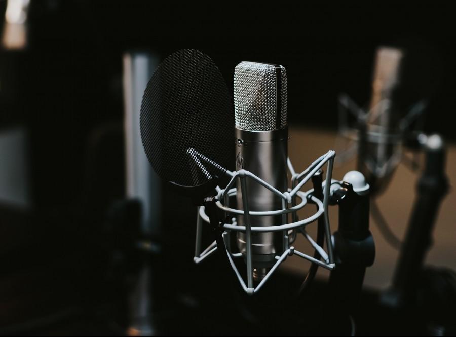 радио, микрофон