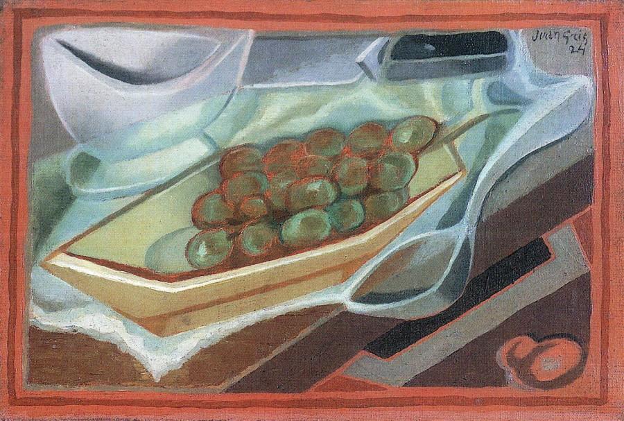 кубизм, виноград, современное искусство