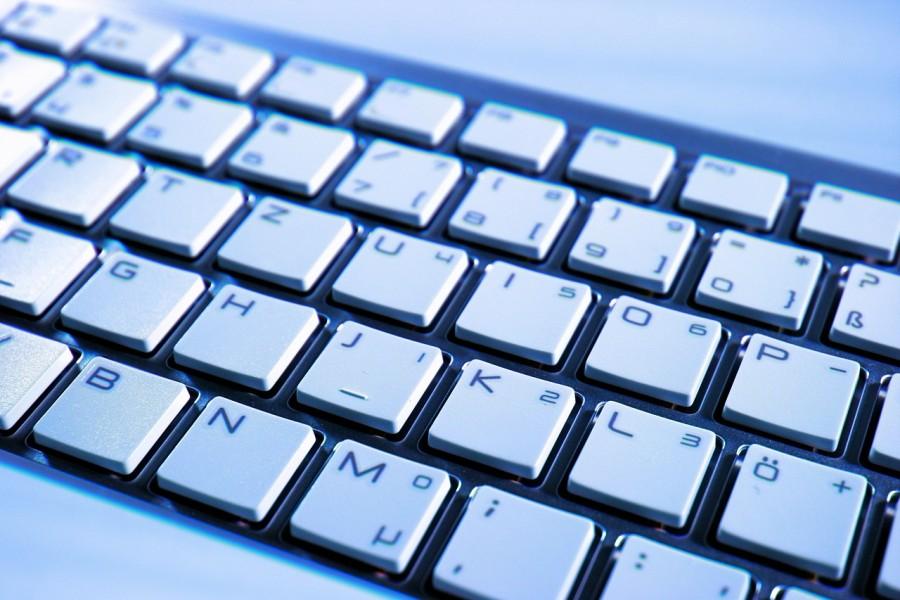 клавиатура, компьютер