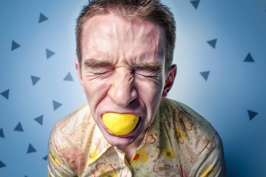 злость, стресс, лимон