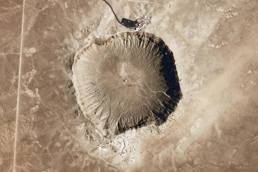 аризонский кратер, метеорит, аризона