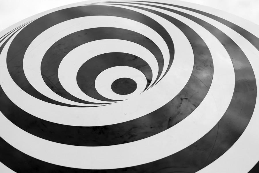 спираль, иллюзия