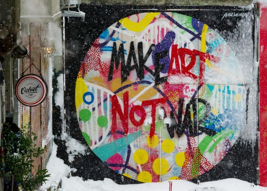 искусство, графити