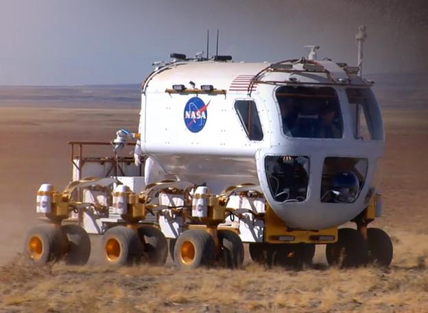Экспериментальный марсоход для колонизаторов Марса,  NASA