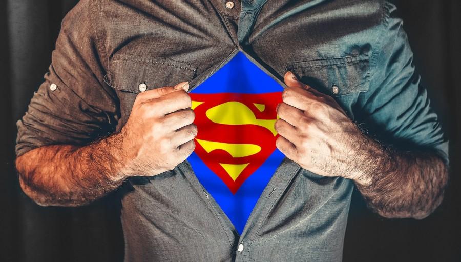 супермен, супергерой