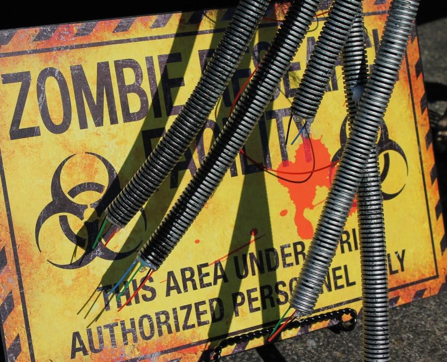 зомби, знак
