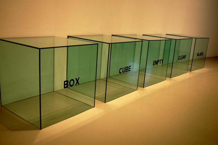 опирающееся стекло