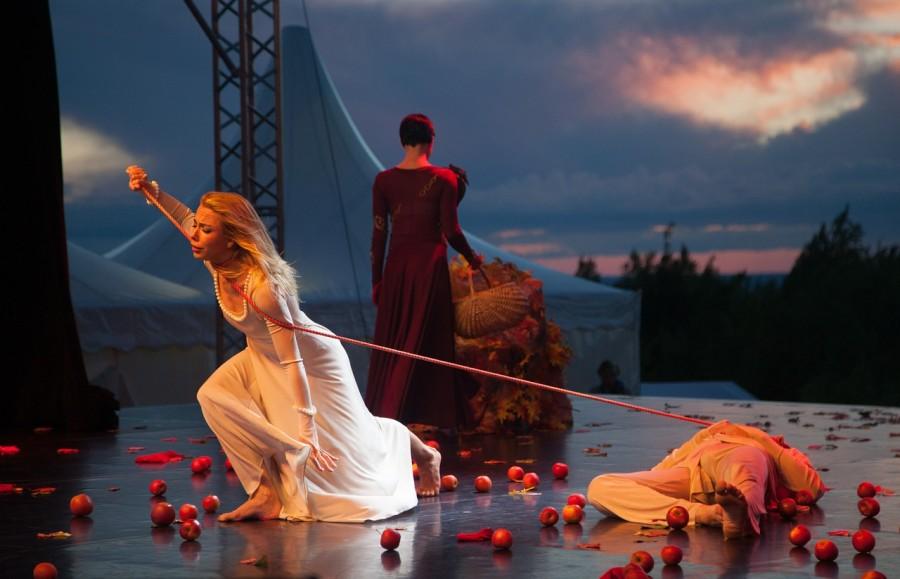 балет на закате, пермь, ромео, джульетта