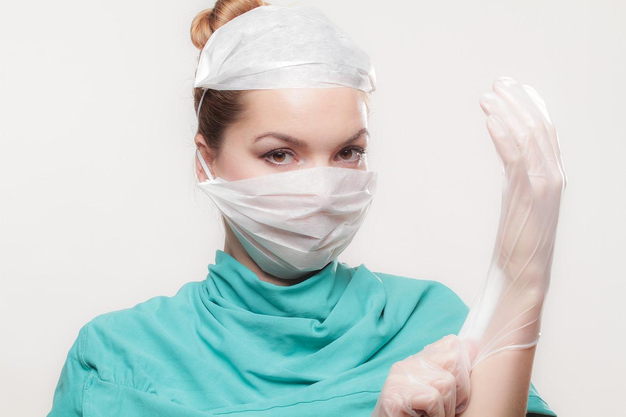 Хирург, врач, женщина